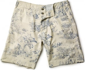 French Toile men's Short - laydown