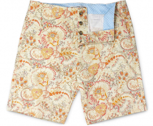Cotton Italian Print Short
