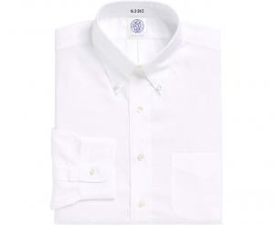 Thomas Mason White Pinpoint Shirt