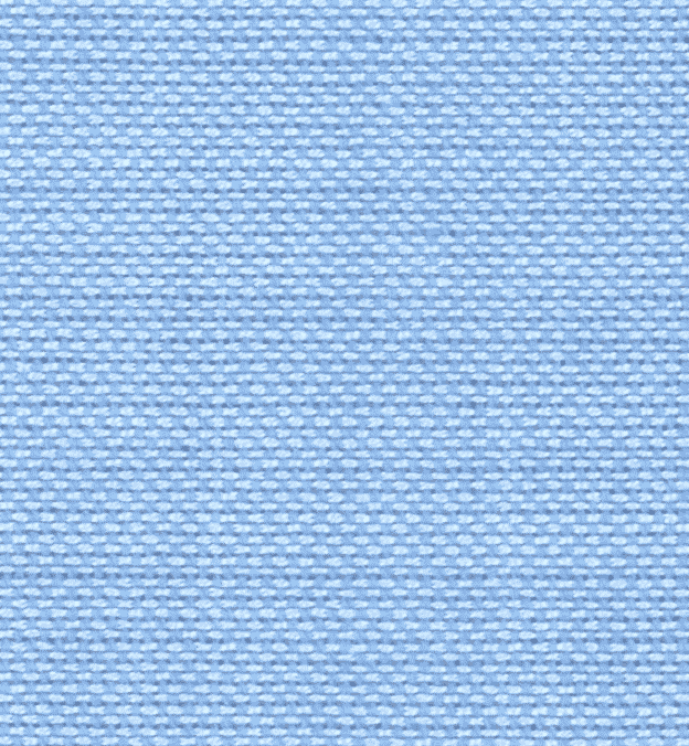 Detail photo - blue plain weave cotton textile
