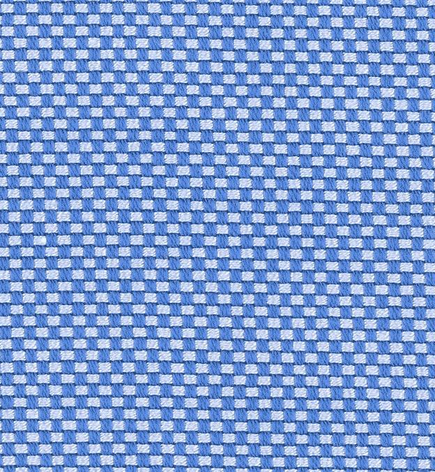 Detail photo - blue cotton Royal Oxford Cloth textile