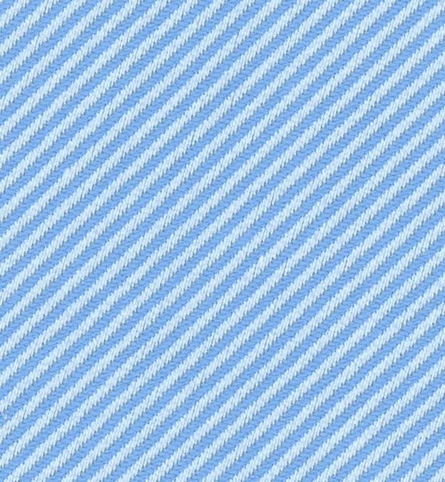 Detail photo - blue twill weave cotton textile