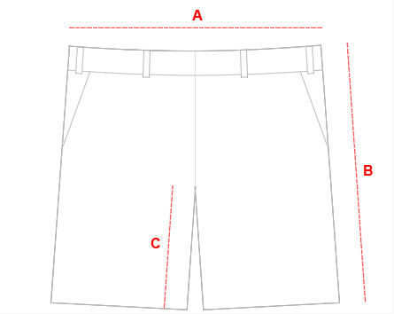 Shorts Size Chart Guide